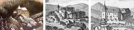 Hohenburg um 1700