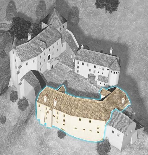Hohenburg 1700 Althaus