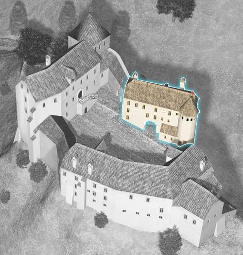 Hohenburg 1700 Torstube