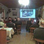Großes Interesse am Vortrag von Gabriele Roth über die Flößerei auf der oberen Isar.