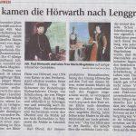 Hörwarth kaufte vor 450 Jahren Hohenburg